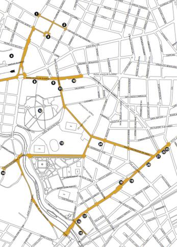 Uruguay, Montevideo, El Prado, map