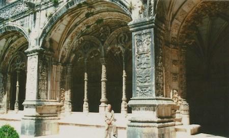 Robert Wright, Portugal, Lisboa, Lisbon, Mosteiro dos Jerónimos, cloister, claustro