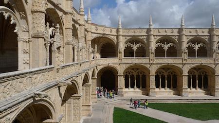 Mosteiro dos Jerónimos, guide, claustro