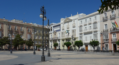 España, Spain, Cádiz, Plaza de San Antonio