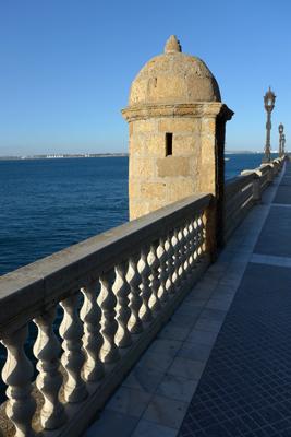 España, Spain, Cádiz, malecón