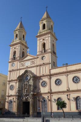 España, Spain, Cádiz, Iglesia de San Antonio