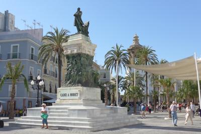 España, Spain, Cádiz, Plaza de San Juan de Dios