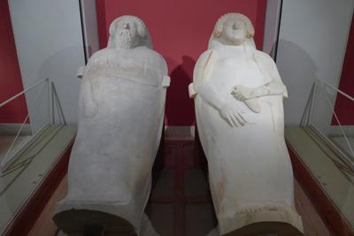 España, Spain, Cádiz, Phoenician sarcophagi