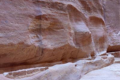 Jordan, Petra, necropolis, camel reliefs