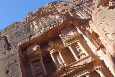 Jordan, Petra, Treasury, al-Khezneh