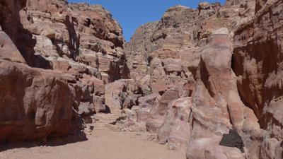 Jordan, Petra, climb to Ad Deir