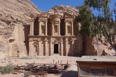 Jordan, Petra, Ad Deir, monastery