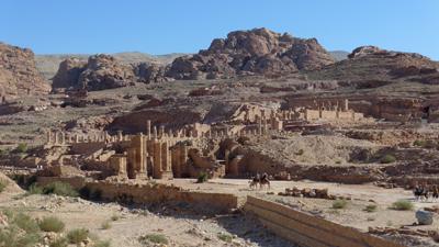 Jordan, Petra, Great Temple