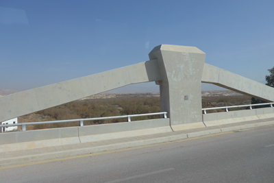 Jordan/Israel, King Hussein Bridge, Allenby Bridge