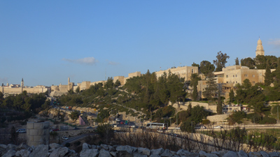 Israel, Jerusalem, walls, panorama