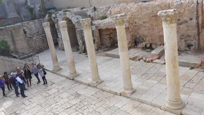 Jerusalem, Israel, Jewish Quarter, Cardo, Roman ruins