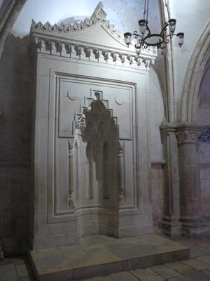 Jerusalem, Israel, Dormition Abbey, cenaculum