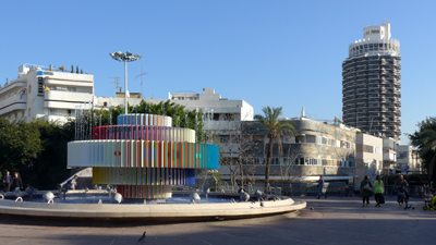 Israel, Tel Aviv, Bauhaus Center walk, Racionalismo, Dizengoff Circle