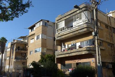 Israel, Tel Aviv, Bauhaus Center walk, Racionalismo