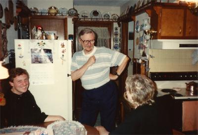 Robert Wright, Carl Carlson, Mae Carlson, Moulton, Iowa