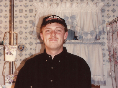 Robert Wright, moustache, Moulton, Iowa