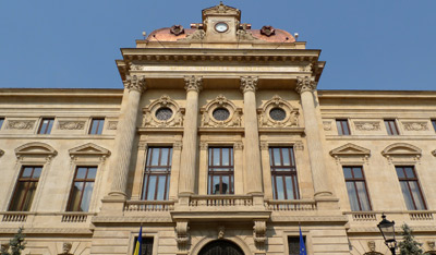 Romania, Bucureşti, Bucharest, National Bank, Beaux-Arts