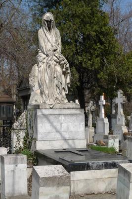 Romania, Bucureşti, Bucharest, Bellu Cemetery