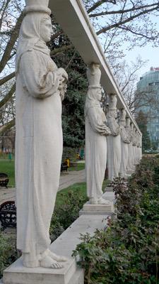 Bucureşti, Romania, Bucharest, Herăstrău Park, sculptures
