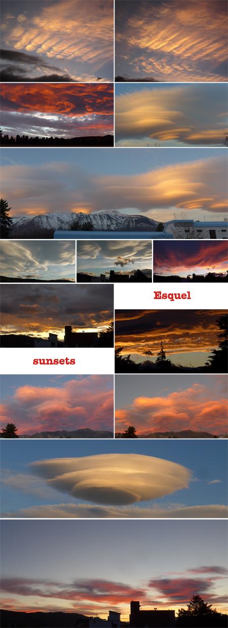 Esquel, sunset, atardecer, Patagonia