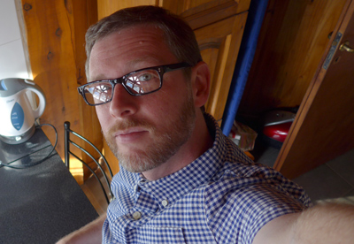 Robert Wright, Esquel, selfie