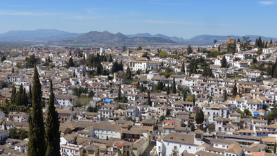 Spain, Andalucía, Granada, guidebook research, Rick Steves, 2015