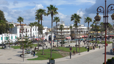 Morocco, Tangier,, guidebook research, Rick Steves, 2015
