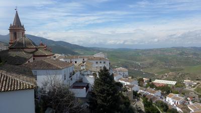 Spain, Andalucía, Pueblos Blancos, Zahara de la Sierra, guidebook research, Rick Steves, 2015