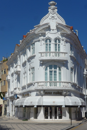 Portugal, Aveiro, architecture, Art Nouveau