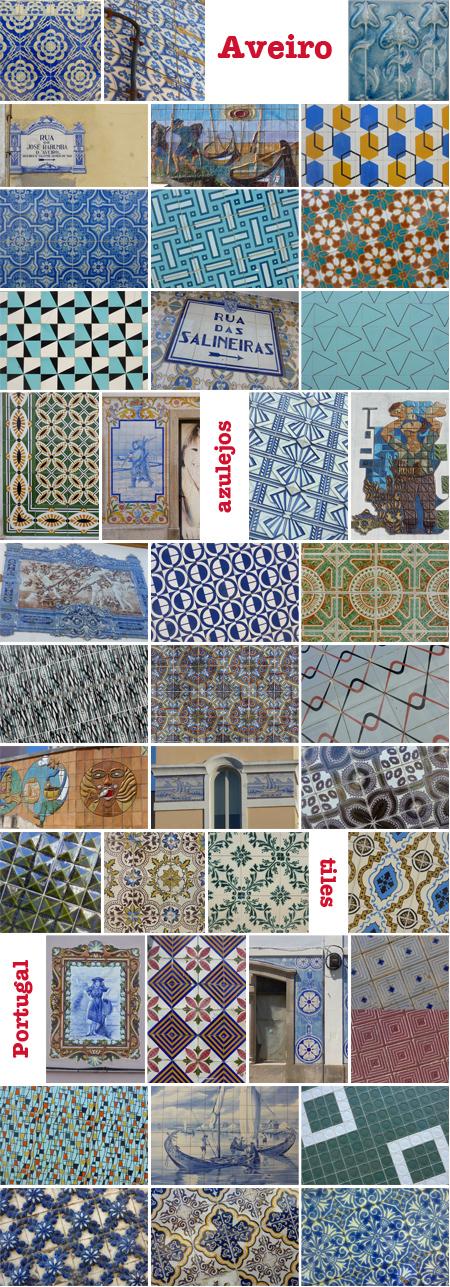 Portugal, Aveiro, azulejos, tiles