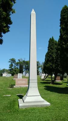 USA, Iowa, Cedar Rapids, Oak Hill Cemetery