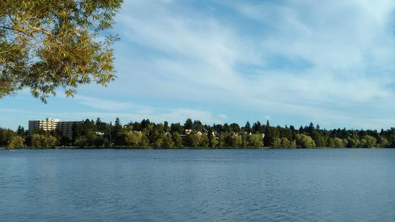USA, Seattle, Green Lake, photo essay