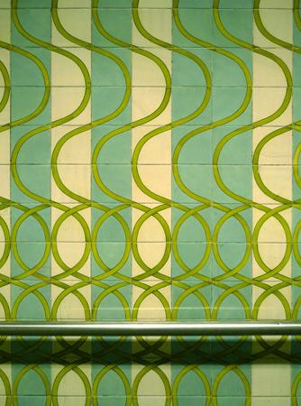 Portugal, Lisboa, Metro, subway, tiles, azulejos, Areeiro, Maria Keil
