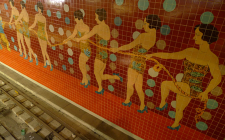 Portugal, Lisboa, Metro, subway, tiles, azulejos, Bela Silva, Alvalade