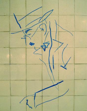 Portugal, Lisboa, Metro, subway, linha azul, tiles, azulejos, Júlio Pomar, Alto dos Moinhos