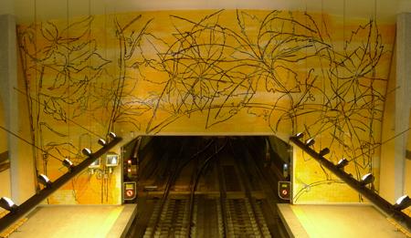Portugal, Lisboa, Metro, subway, linha azul, Amadora Este