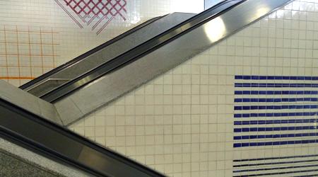 Portugal, Lisboa, Metro, subway, linha amarela, tiles, azulejos, Senhor Roubado