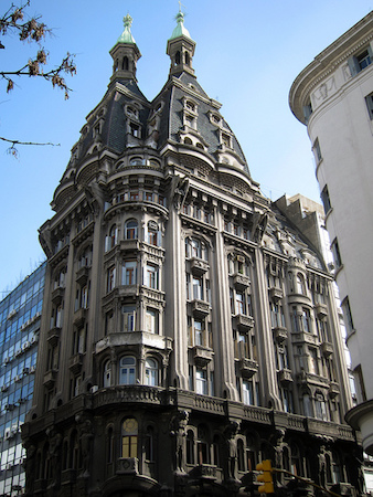 Argentina, Buenos Aires, Monserrat, Edificio Otto Wulff, Art Nouveau, Jugendstil