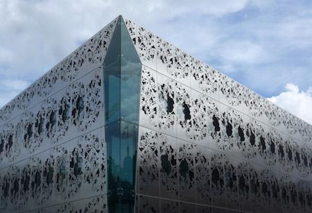 France, Nantes, Conseil général de Loire Atlantique, architecture