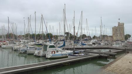 France, La Rochelle, port