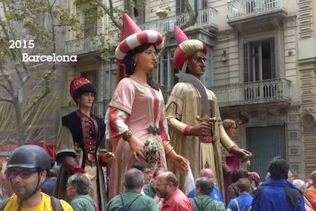 España, Spain, Catalunya, Barcelona, La Diada, 2015