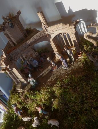 Spain, España, Christmas, Navidad, Sevilla, Belén, Mosteiro dos Jerónimos