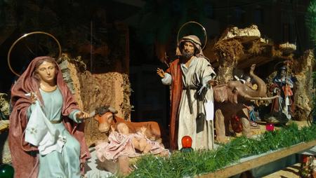 Spain, España, Christmas, Navidad, Sevilla, Belén, nativity scene