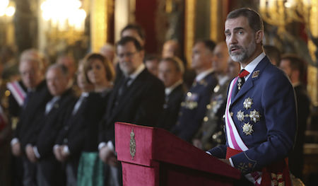 Spain, España, Navidad, Reyes Magos, Felipe VI, Pascua Militar
