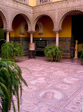 España, Andalucía, Sevilla, Palacio, Condesa Lebrija, mosaic