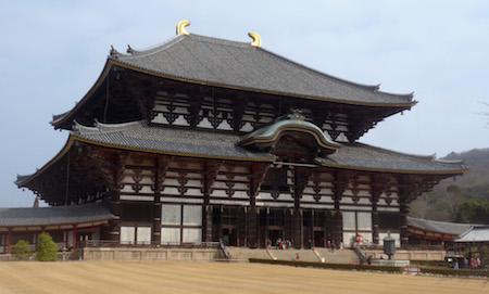 Japan, Nara, Tōdai-ji, temple
