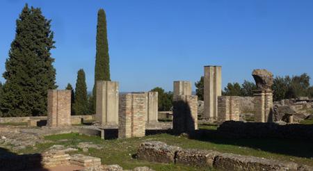 España, Andalucía, Itálica, Exedra