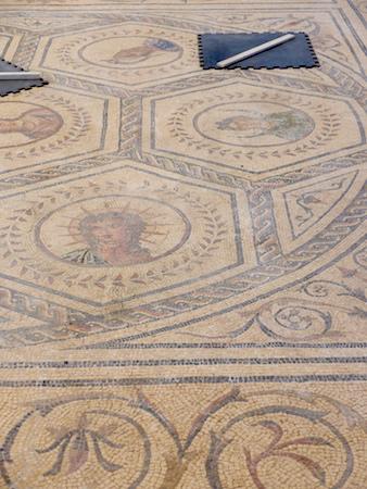 España, Andalucía, Itálica, mosaic, Planetario
