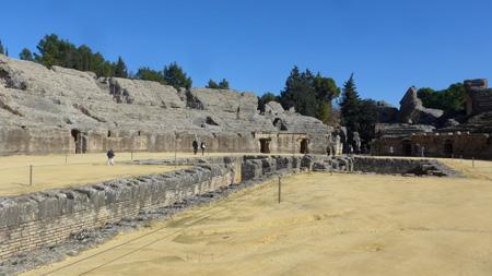 España, Andalucía, Itálica, amphitheater